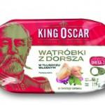 Zasmakuj w Wątróbce z dorsza, czyli wykwintny przysmak w ofercie firmy King Oscar