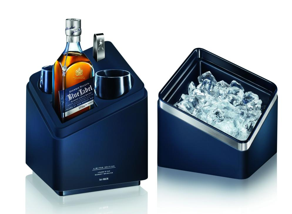 how to serve blue label