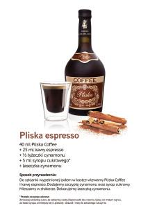 Pliska_przepis na drink_Pliska Coffee Espresso