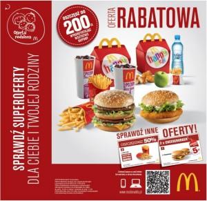 Wiosenna oferta rabatowa w McDonald's