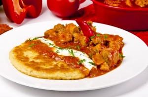 http://www.dreamstime.com/stock-image-hungarian-goulash-potato-pancakes-image22129061