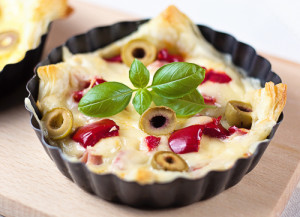Naturalne gotowanie - warzywne tartaletki