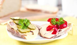 Naturalne gotowanie - kanapki z warzywami