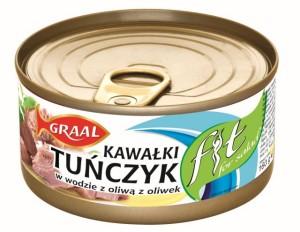GRAAL_Tunczyk_FIT_w_wodzie_z_oliwa_z_oliwek_160g