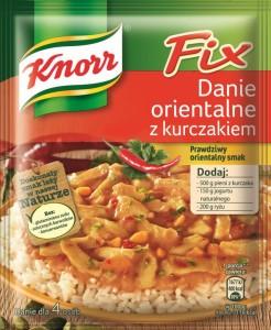 Fix Knorr Danie orientalne z kurczakiem