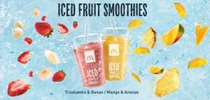 Grafika Iced Fruit Smoothies