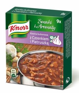 Smaki i aromaty_Kostka bulionowa z czosnekiem i pietruszka
