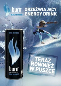 burn BLUE REFRESH kv 1