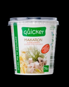 Fot. Quicker - makaron  z kurczakiem