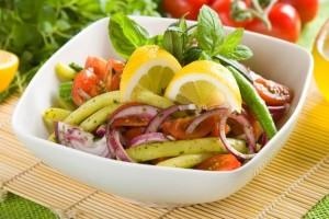 Salatka z fasolki