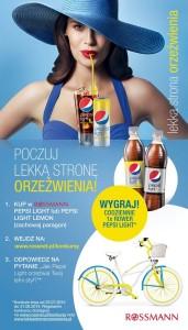 Konkurs Pepsi Light i Pepsi Light Lemon_plakat
