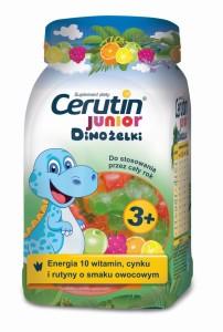 Cerutin Junior_Dinozelki z witaminami cynkiem i rutyna_50 szt_ok. 20 zl