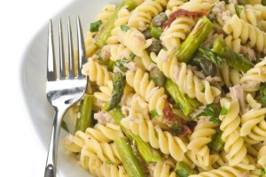 Pasta with Tuna Fish and Vegetables