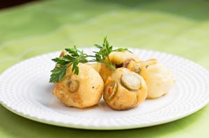Naturalne Gotowanie - kulki z oliwkami