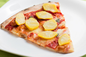 Naturalne Gotowanie - pizza z patisonami