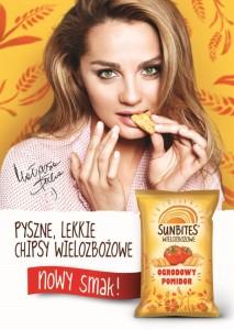 Nowy smak wielozbozowych chipsow Sunbites-Ogrodowy Pomidor