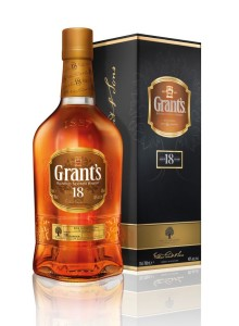 Grant's 18 year old bottle and gift box pack photography high res CMYK Tiff image_large