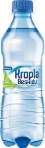 Packshot_Kropla Beskidu Gazowana_500 ml PET