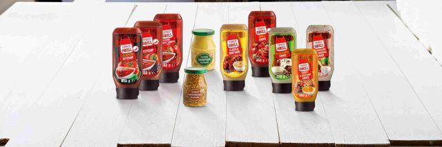 Tesco Grill ketchupy, sosy i musztardy