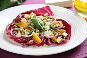 Grillowa salatka z pomaranczami