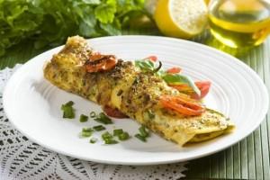 Swiateczny omlet