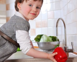 Woda w potrwach dla dzieci