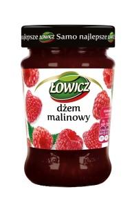 Dzem niskoslodzony Malinowy_Lowicz