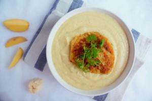 zupa chrzanowa z serem