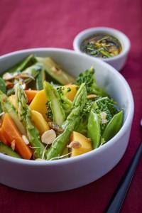 Chrupiace warzywa z woka