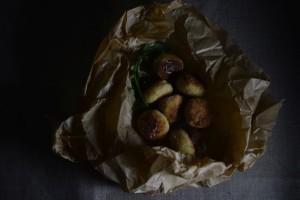 Kuleczki z morszczuka z ziemniakami i parmezanem