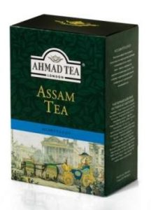 ASSAM TEA AHMAD TEA LONDON