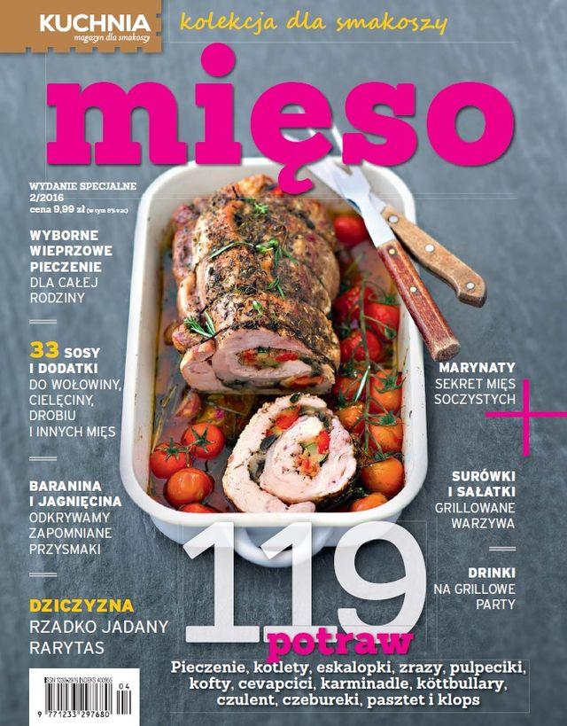 Mięso Specjalne Wydanie Miesięcznika Kuchnia Cytrynowopl