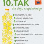 10 razy TAK dla oleju rzepakowego