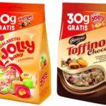 Weź dwa smaki z jednej paki! – promocja galaretek Jolly baby i cukierków Toffino Choco