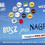 """Rusza wielka loteria """"Nestlé porusza Polskę: Rusz po Nagrody!"""""""