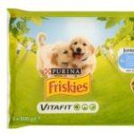 Marka FRISKIES wprowadza mokrą karmę dla psów na 1 raz