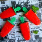 CYKORIA –  lody truskawkowe