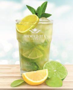 Lemon & Lime - mrozona herbata Ahmad Tea London
