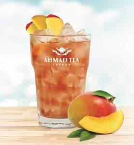 Mrożona herbata - mango Ahmad Tea London