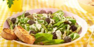 salatka z jezynami WINIARY