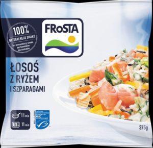 Łosoś z ryżem i szparagami_FRoSTA