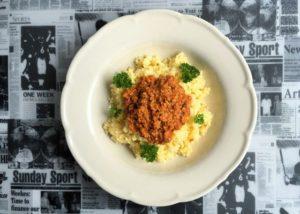 C - kasza jaglana z pesto pomidorowym (1)