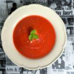 CYKORIA –  zupa truskawkowa z kasza jaglaną