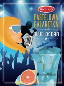 Galaretka Pastelowa smak_Blue ocean 57g