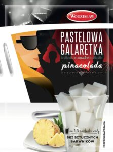 Galaretka Pastelowa smak_Pinacolada 57g