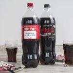 Coca-Cola i Coca-Cola Zero 1,5l i 2l z zaskakującymi etykietami