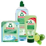 Zielona moc limonki w nowym żelu do mycia naczyń w zmywarkach