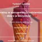 TYDZIEŃ LODÓW – zniżki i darmowe lody w Warszawie przez cały tydzień