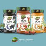Eksplozja dobroczynnej mocy natury w nowych produktach dżemowych Łowicz. Innowacja taka, że Łooo!