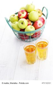delicious apple juice - food and drink